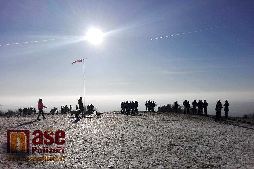 Novoroční výstup na Kozákov 2020<br />Autor: Petr Ježek