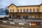 Rekonstruované nádraží v Semilech v prosinci 2019