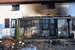 Požár zimní zahrady Holany