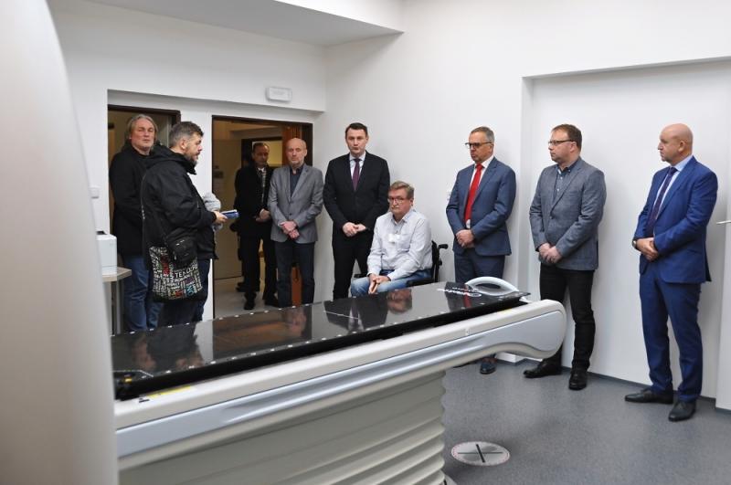 Zprovoznění nového CT simulátoru v krajské nemocnici<br />Autor: Barbora Bělíková