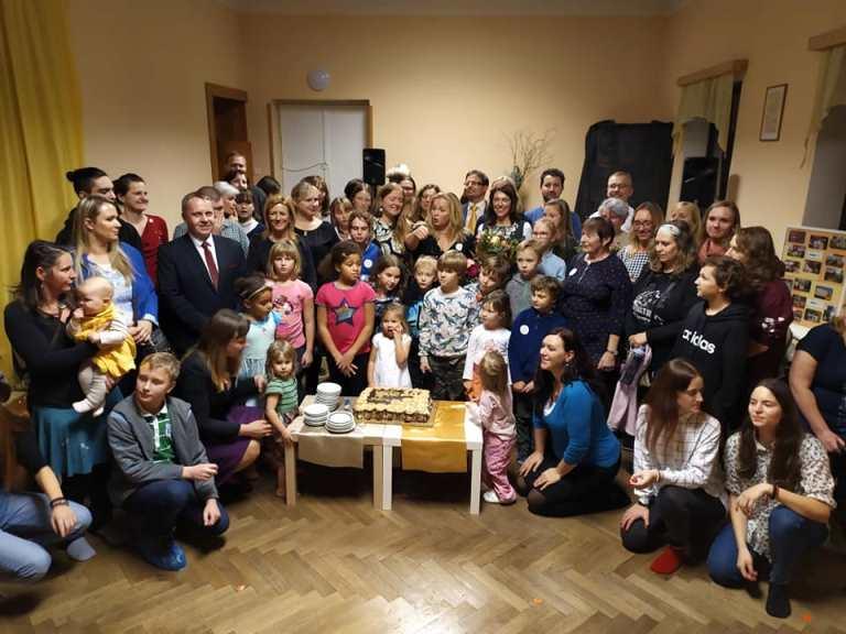 Oslavy 20 let působení Centra Náruč v Turnově<br />Autor: Archiv KÚ Libereckého kraje