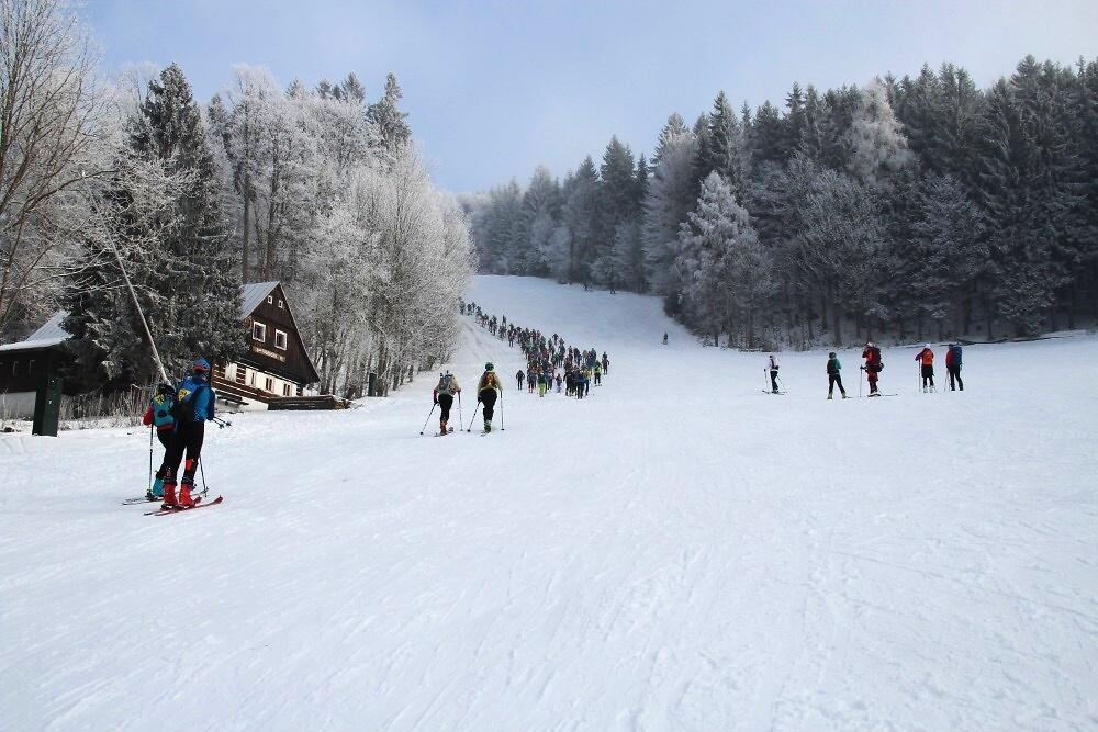 Závod O dřevěného Krakonoše 2020<br />Autor: Archiv Alpin Club Rokytnice nad Jizerou