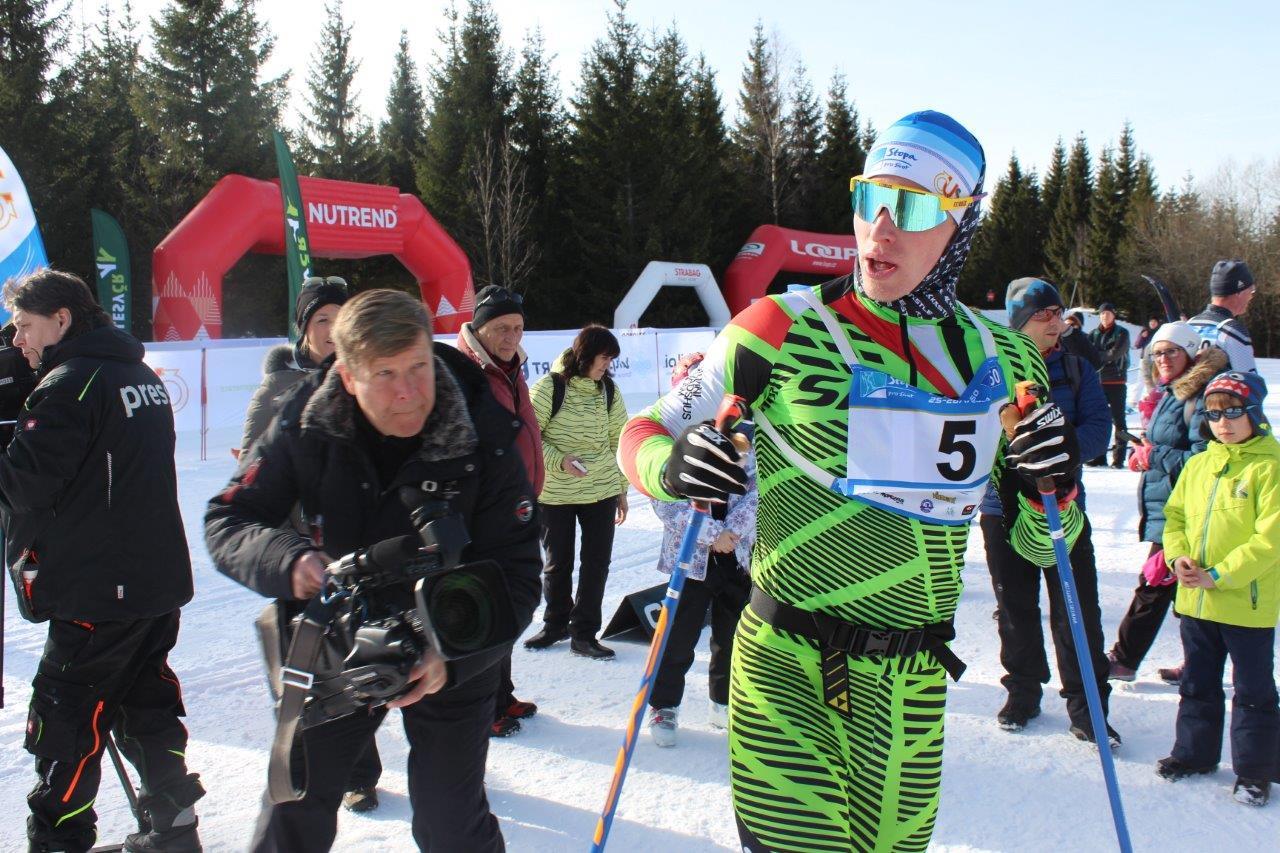 Závod v běhu na lyžích Jilemnická padesátka<br />Autor: Archiv ČKS SKI Jilemnice