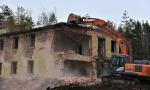 Demolice budovy v Ralsku
