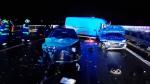 Hromadná nehoda na dálnici D10 u Svijan