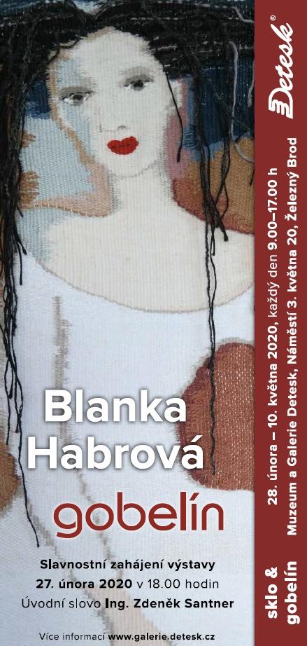 Pozvánka na výstavu Vladislav Mašek - sklo & Blanka Habrová - gobelín<br />Autor: Petr Ježek