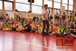 Sazka Olympijský víceboj s Veronikou Vítkovou na ZŠ F. L. Riegra v Semilech