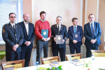 Podpis dohody mezi HZS a distributory energie