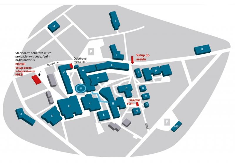 Zřízení odběrového místa v Krajské nemocnici Liberec<br />Autor: Archiv KÚ Libereckého kraje