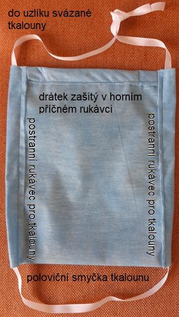 Rouška z TU Liberec<br />Autor: Archiv TU Liberec