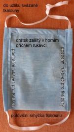 Rouška z TU Liberec