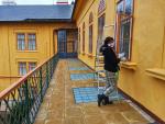 Slatiňany - přípravné práce a úklid