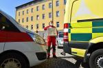 Policisté předali 500 respirátorů záchrance, v kraji už je 16 nakažených