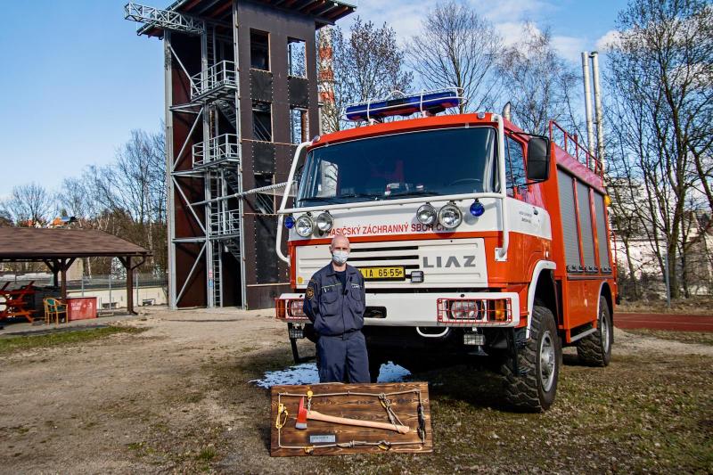 Rozloučení s Janem Semerádtem na liberecké stanici<br />Autor: HZS Libereckého kraje, Jaromír Mottl