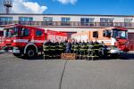 Řady profesionálních hasičů opustil po dlouholeté službě Jan Semerádt