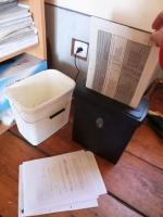 Grabštejn - likvidace dokumentů