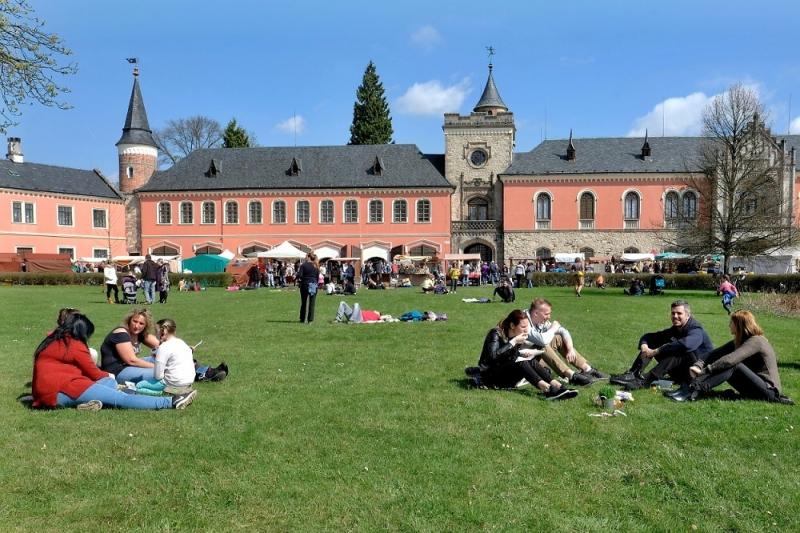 zahrada zámku na Sychrově<br />Autor: Archiv Sdružení Český ráj