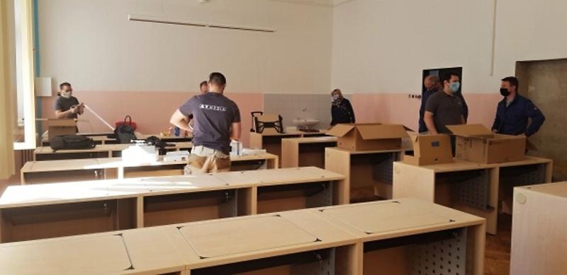 Modernizace učeben a konektivity tří základních škol v Turnově<br />Autor: Petra Houšková