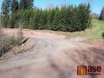 Probíhá rekonstrukce silnice z Podbozkova do Cimbálu