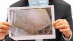 Ochranná pomůcka z Číny, která do Libereckého kraje dorazila poškozená