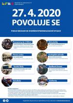 Informační letáky pro veřejnost