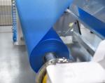 Výroba nanovlákenné vrstvy z materiálu AntiMicrobe Web R společností Nano Medical Liberec