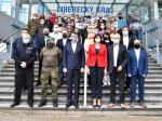 Společná fotka krizového štábu Libereckého kraje