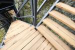 Trosky - obnova schodiště
