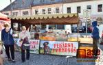 Farmářský trh na jilemnickém náměstí