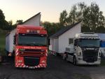 Start kamionů s nadměrným nákladem