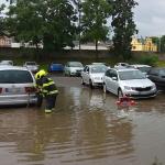 Hasiči v Pojizeří zasahují kvůli dešti, vodní toky se dál sledují