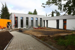 Výstavba turnovského Alzheimer centra v červnu 2020