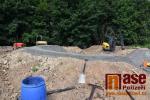 Výstavba pumptrackových drah v Maškově zahradě v Turnově