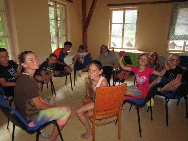 Hasičský dětský tábor na Nebákově 2020<br />Autor: Ladislav Bruckner
