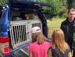 Děti v táboře Krásnov prožily jedno dopoledne s policisty