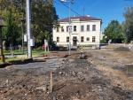 Rekonstrukce Přepeřské ulice v Turnově a silnice v Přepeřích na konci července 2020