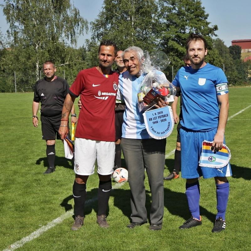 Oslavy 80 let fotbalu v Nové Vsi nad Popelkou<br />Autor: Archiv TJ Sokol Nová Ves