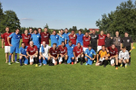 V Nové Vsi nad Popelkou oslavili 80 let fotbalu zápasem se Spartou