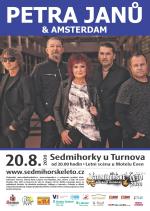 Plakát na koncert Petry Janů