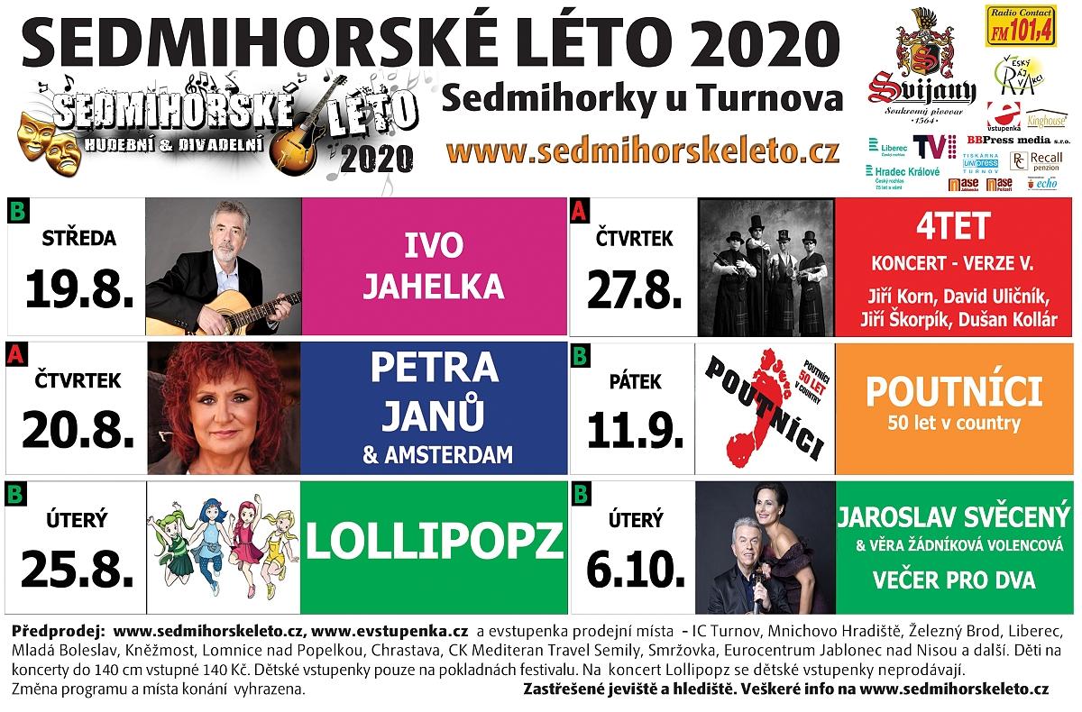 Sedmihorské léto 2020<br />Autor: Jitka Maděrová
