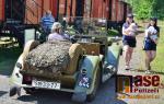 FOTO: Fanoušci historie v Martinicích viděli legiovlak i parničku