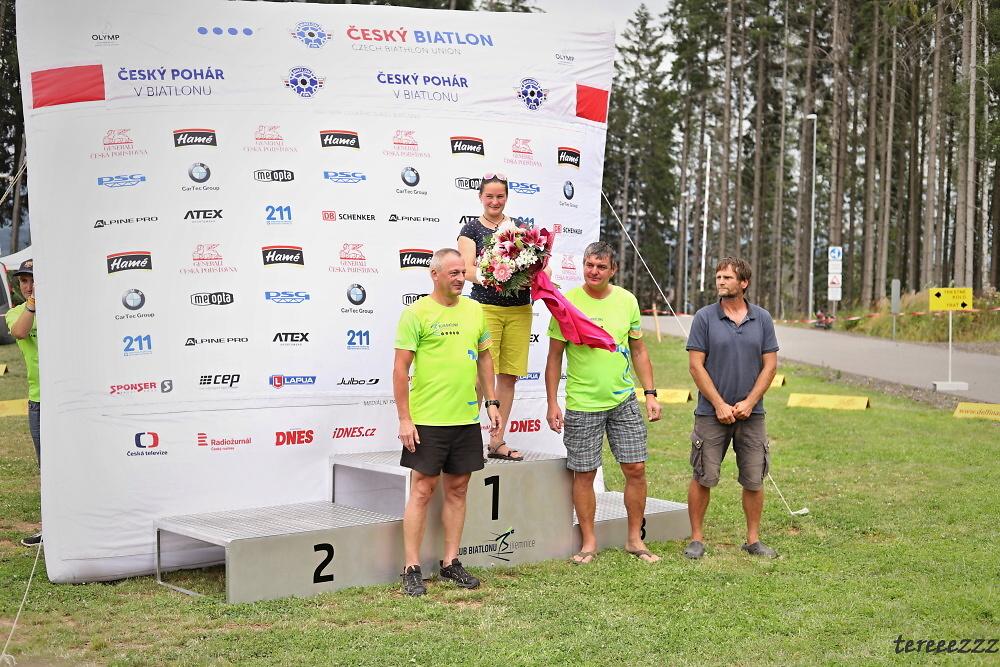 Druhé kolo Českého poháru v letním biatlonu v areálu Hraběnka v Jilemnici<br />Autor: Tereza Bujárková