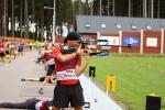 Druhé kolo Českého poháru v letním biatlonu v areálu Hraběnka v Jilemnici