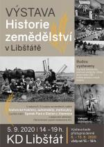 Pozvánka na výstavu Historie zemědělství v Libštátě