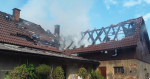 Požár domu v Jílovém u Hodkovic nad Mohelkou