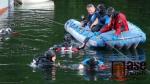 Vynoření posádky podvodní laboratoře Hydronaut v lomu Jesenný