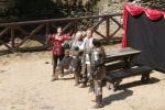 Šermířské turnaje na hradě Bezděz