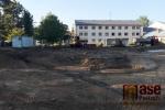 Start stavby základů MŠ Treperka v Semilech
