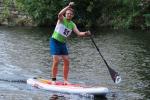 Starosta Turnova Tomáš Hocke na paddleboardu