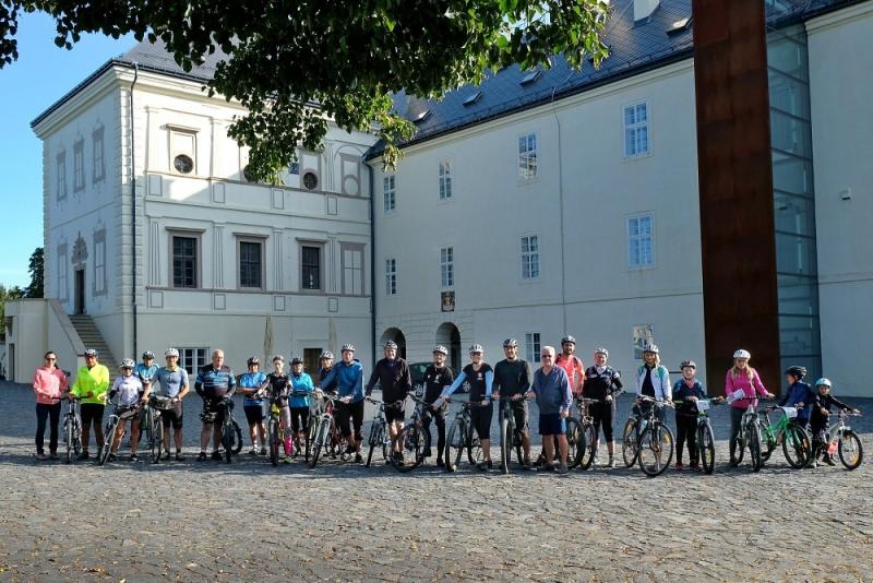Cyklojízda na trase plánované cyklostezky Greenway Jizera mezi Svijany a Bakovem nad Jizerou<br />Autor: Archiv Sdružení Český ráj